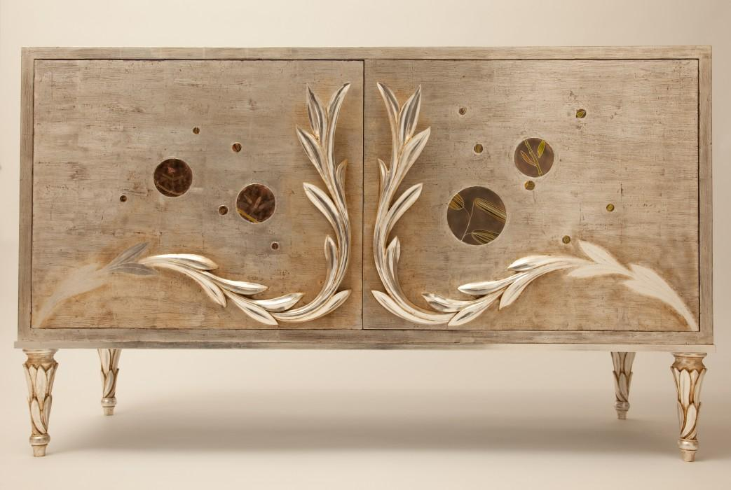 Interlaced sideboard