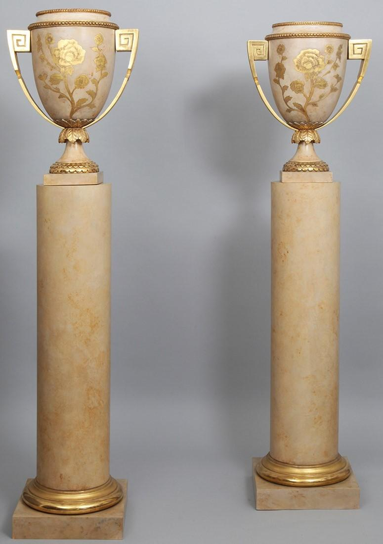 Louis XVI Column and Vase