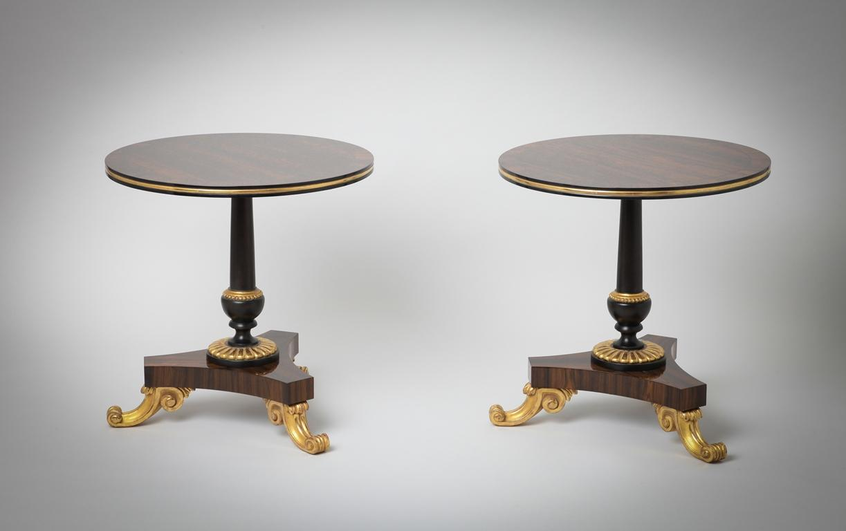 Pedestal table Trianon