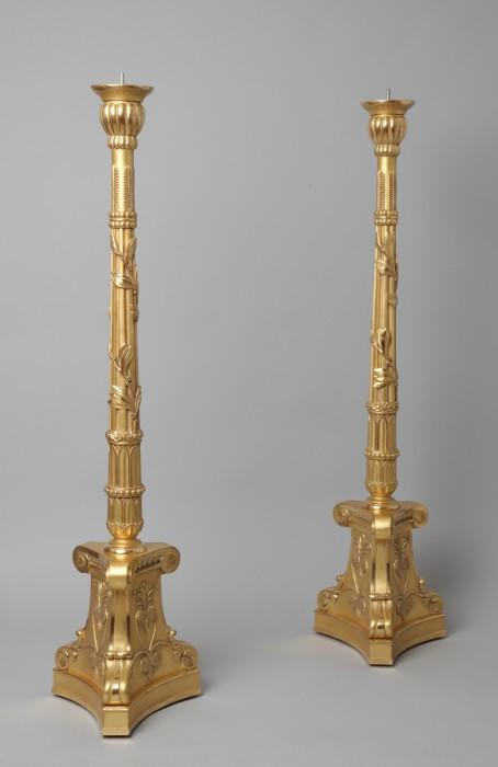 Empire candelabras